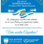 Bicentenario de Nuestra Independencia!